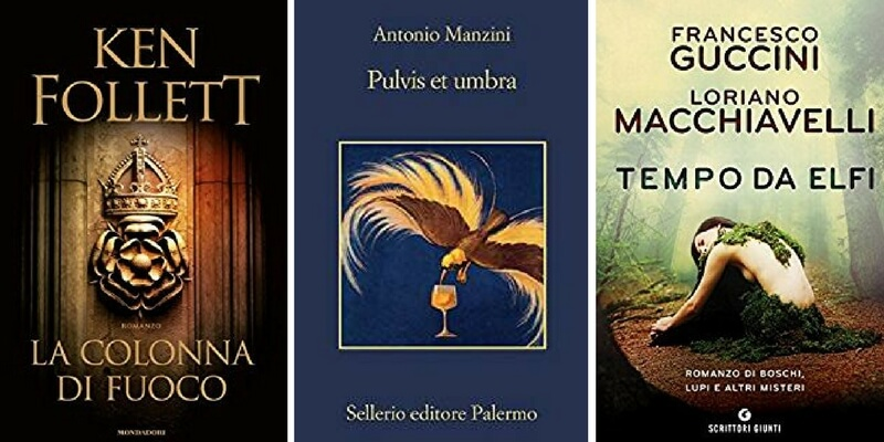 Classifica libri più venduti. Ken Follett conquista ancora il primo posto