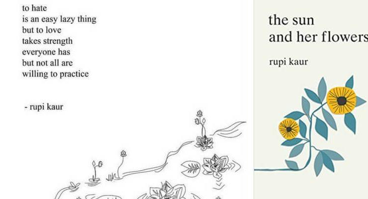 """""""The Sun and her Flowers"""", la seconda raccolta di poesie di Rupi Kaur"""