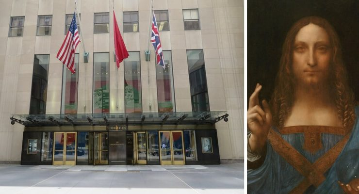 "All'asta a New York il ""Salvator Mundi"" di Leonardo"