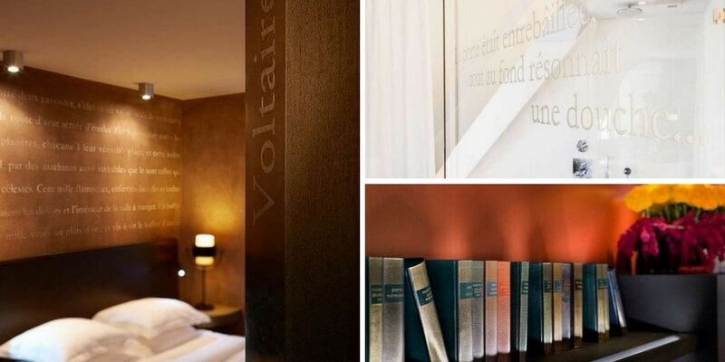 """Les Pavillon des Lettres"", l'Hotel francese dedicato alla letteratura"