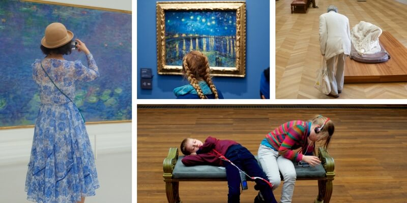 Gli irriverenti scatti nei musei di Stefan Draschan