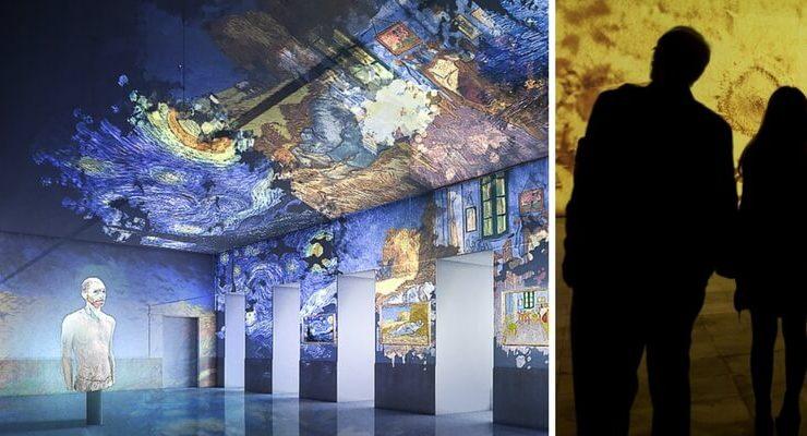 A Napoli la mostra immersiva nell'arte di Van Gogh