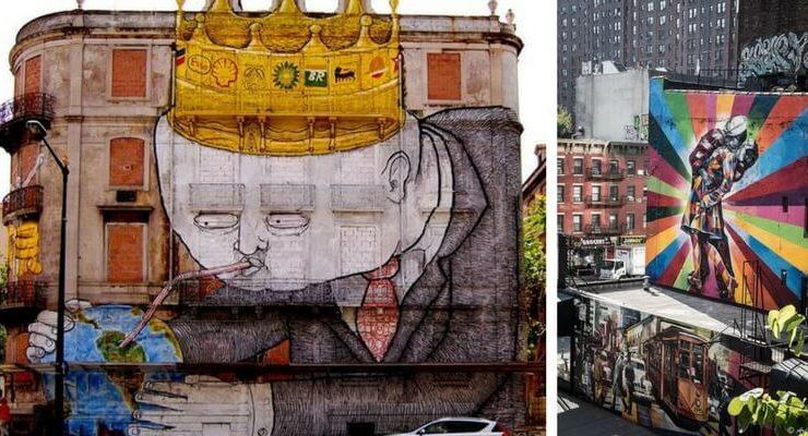 Street art, i graffiti più belli in giro per il mondo