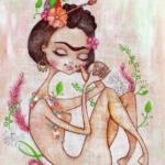Illustrazioni dedicate a Frida Kahlo    © Aurora Gritti