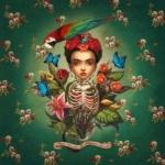 Illustrazioni dedicate a Frida Kahlo |  © Benjamin Lacobe