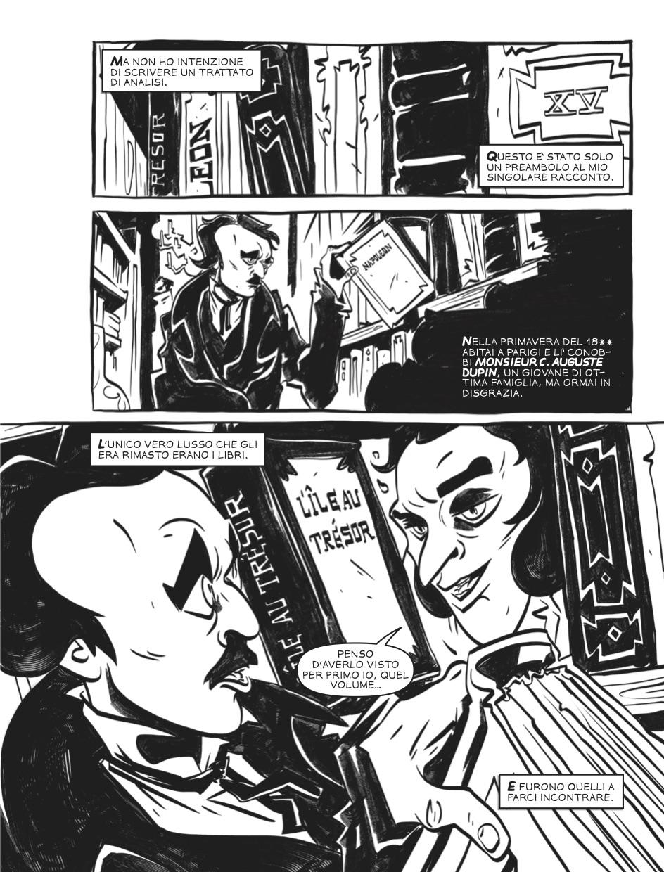 I delitti della Rue Morgue - Tavola 3