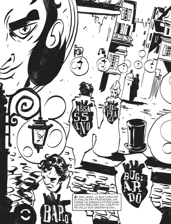 I delitti della Rue Morgue - Tavola 7