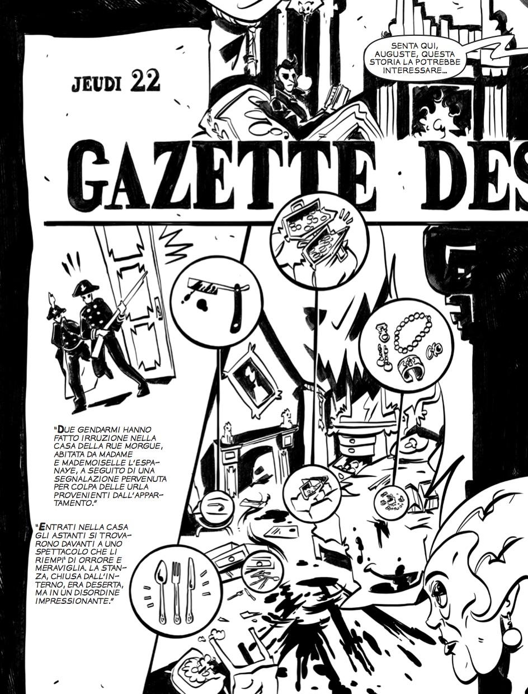 I delitti della Rue Morgue - Tavola 8