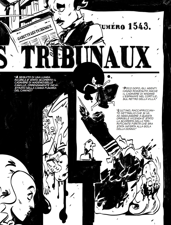 I delitti della Rue Morgue - Tavola 9