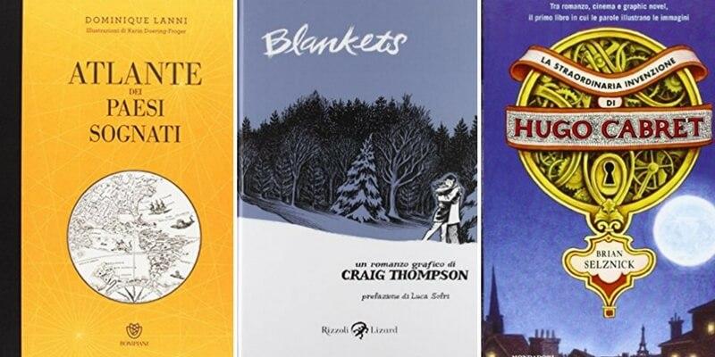 5 libri con illustrazioni da regalare ad un amante dell'arte