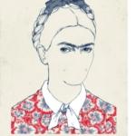Illustrazioni dedicate a Frida Kahlo    © Maria Hergueta