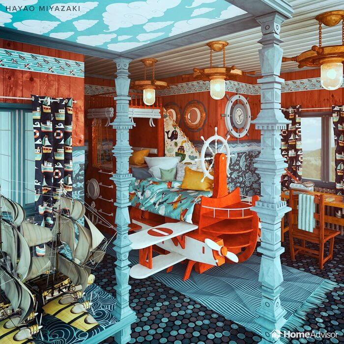 05_Hayao-Miyazaki-bedroom