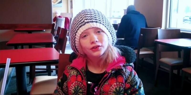 Hilde Lysiak, la giovane reporter di 11 anni