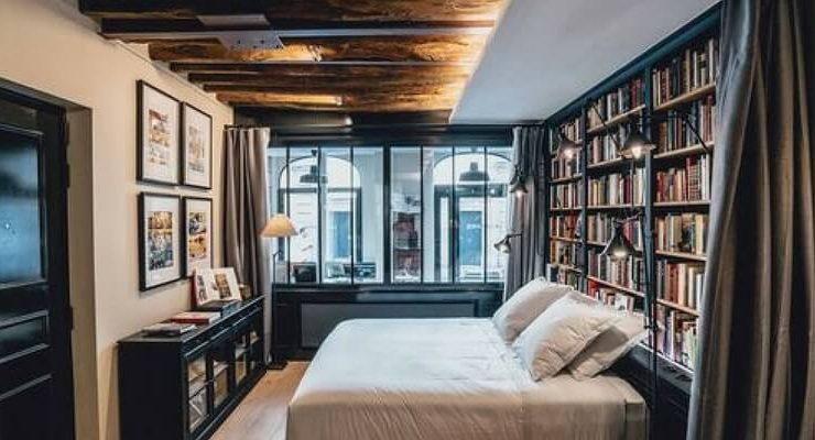 Paris Boutik, la suite pensata per gli amanti dei libri