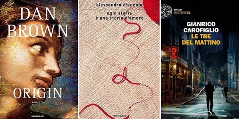 """Classifica libri più venduti. """"Origin"""" di Dan Brown mantiene il primo posto"""
