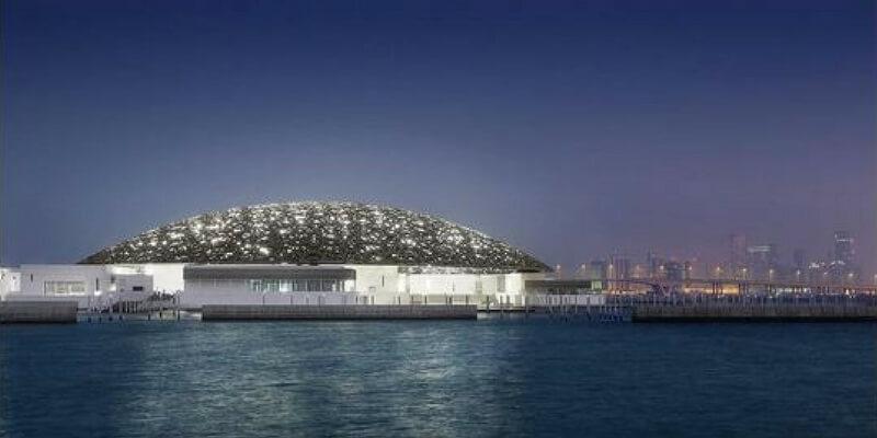 Il nuovo museo del Louvre ad Abu Dhabi