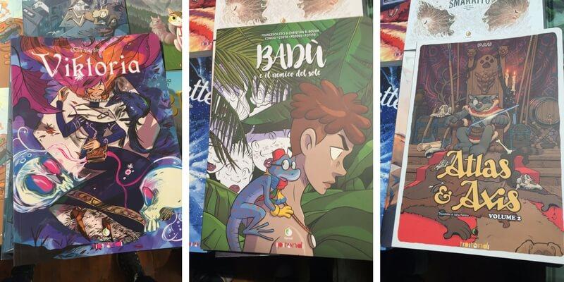 I Tipitondi, i fumetti per bambini di Tunué a Lucca Comics 2017