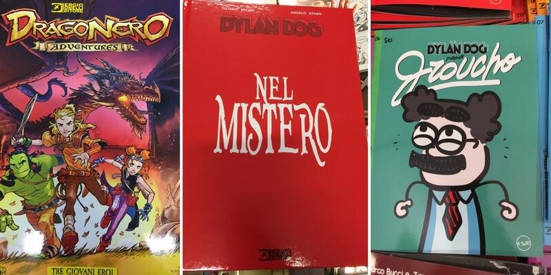 Dylan Dog, Groucho, e le novità Bonelli al Lucca Comics 2017