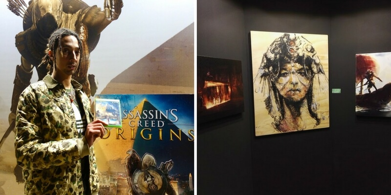 Assassin's Creed Origins protagonista a Lucca Comics & Games con Ghali