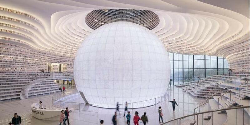 La nuova sorprendente biblioteca in Cina