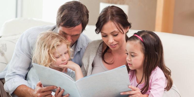 L'importanza e il piacere di leggere in famiglia