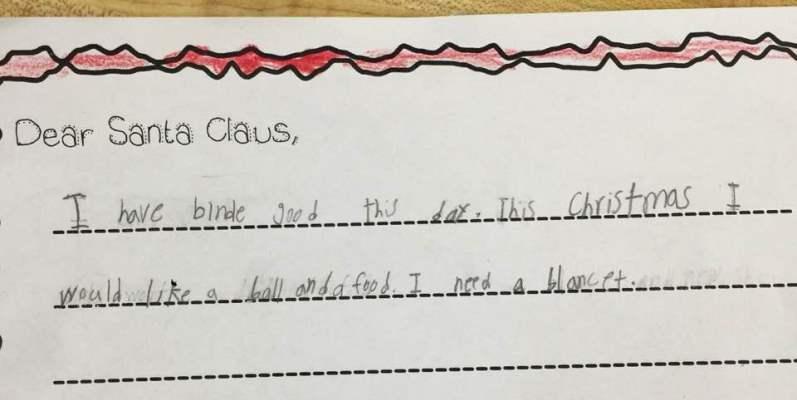 La lettera di Natale della bambina del Texas che ha commosso il web