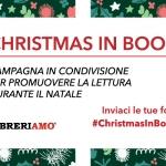 Parte ''Christmas in book'', a Natale tutti uniti per promuovere la lettura e i libri