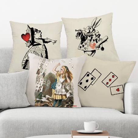 "Kit cuscini ""Alice in Wonderland"""