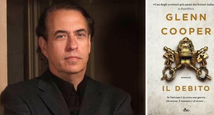 """Glenn Cooper, """"Nel mio nuovo thriller analizzo il ruolo deI denaro nella Chiesa moderna"""""""