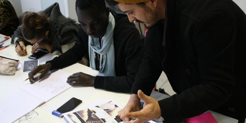 I disegni di giovani fumettisti milanesi contro il razzismo