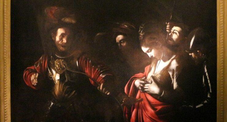 Il Martirio di sant'Orsola di Caravaggio in mostra a Milano