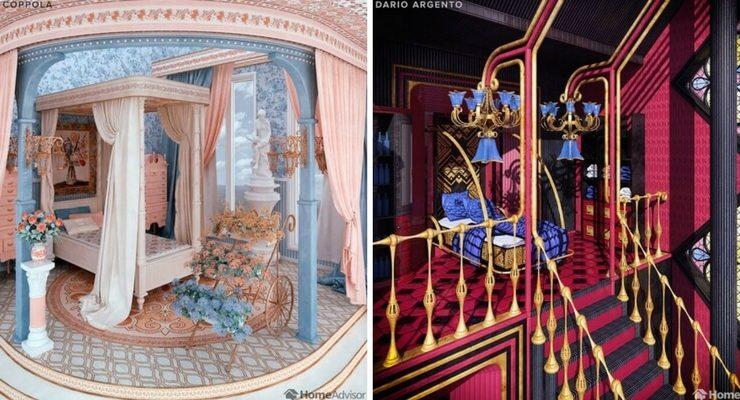 Le stanze da letto ispirate allo stile dei registi
