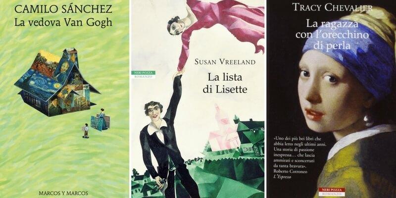 Natale, 5 libri da regalare agli amanti dei romanzi d'arte