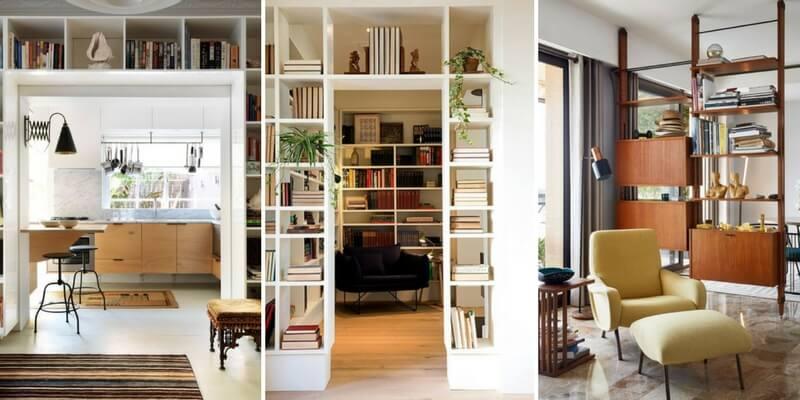 Come le librerie possono diventare elementi di design protagoniste della casa
