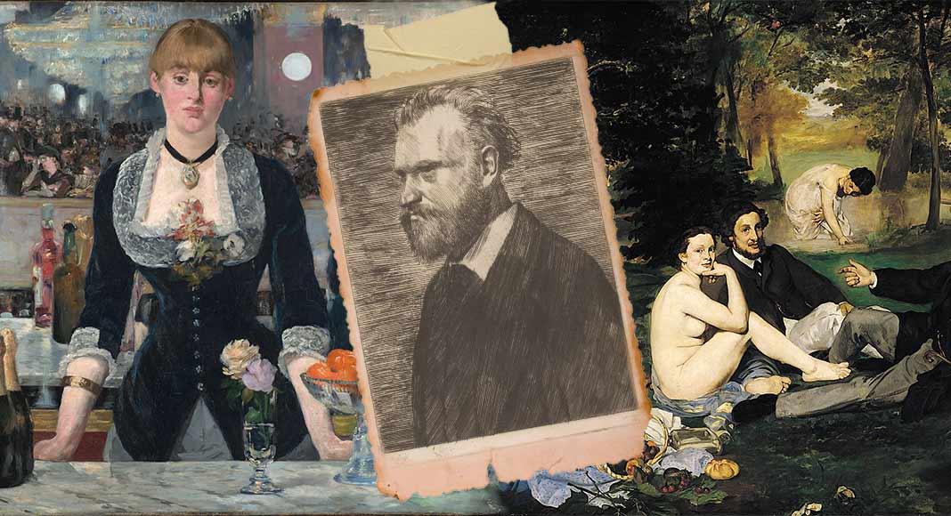 Edouard Manet, l'innovatore della pittura dell'Ottocento
