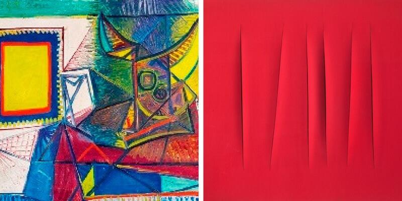 Picasso Fontana