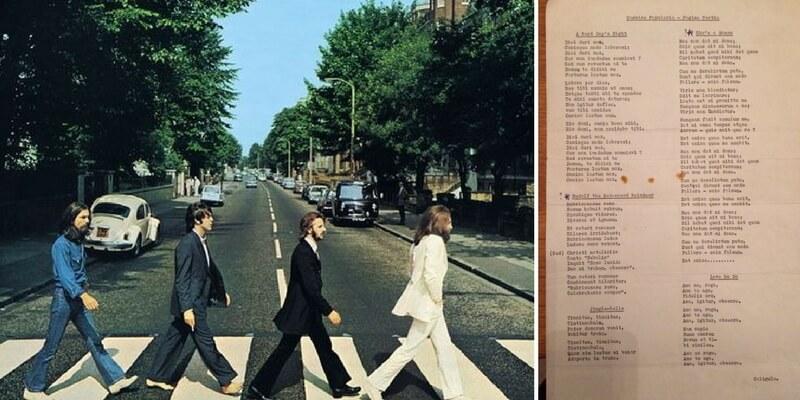 Le canzoni dei Beatles tradotte in latino negli anni Sessanta