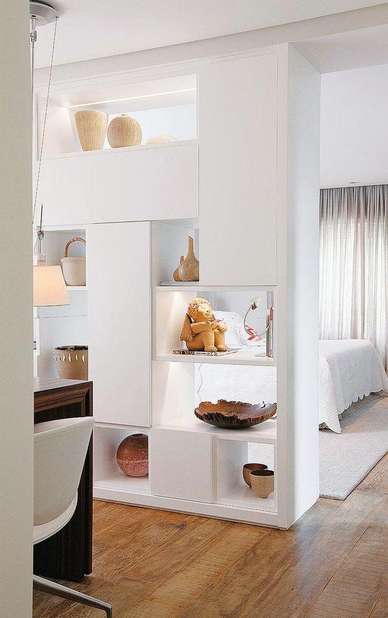 libreria camera da letto