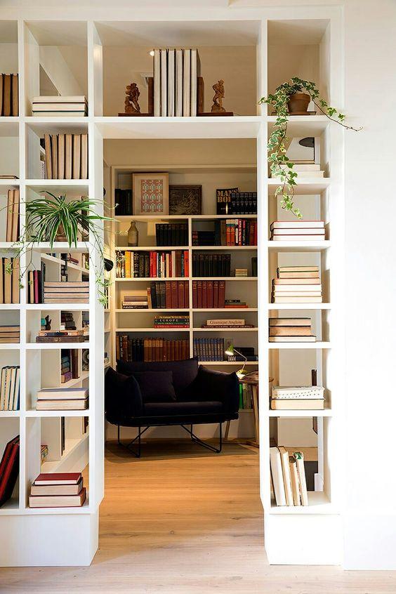 libreria soggiorno studio