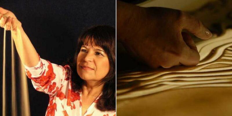 Ilana Yahav, l'arte di raccontare storie con la sabbia