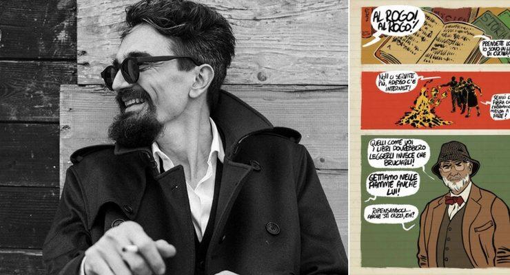 """Roberto Recchioni, """"Il fumetto rende la letteratura più pop"""""""