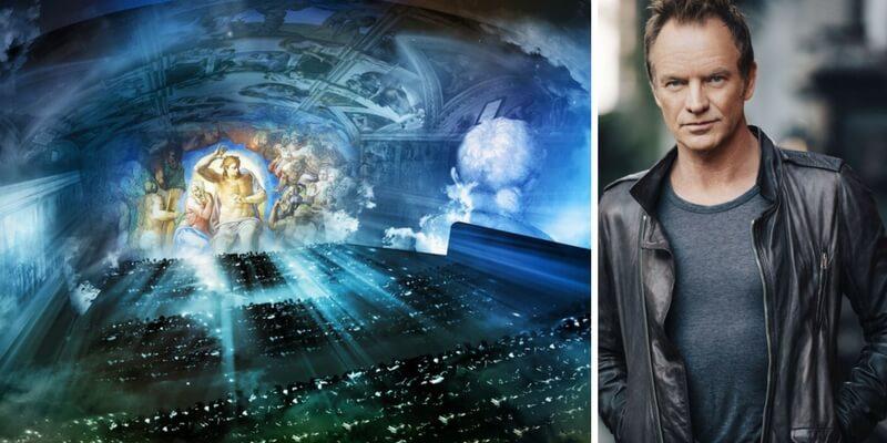 Sting torna in Italia per uno spettacolo sulla Cappella Sisitina