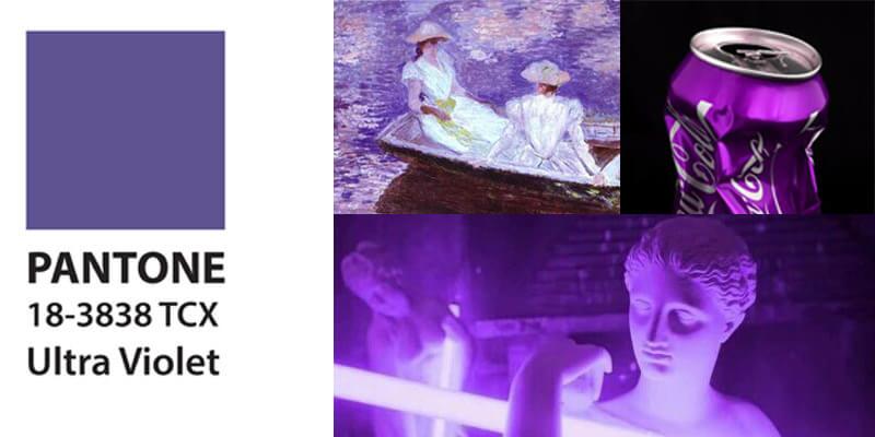 Ultra Violet, il colore dell'anno di Pantone nella storia dell'arte