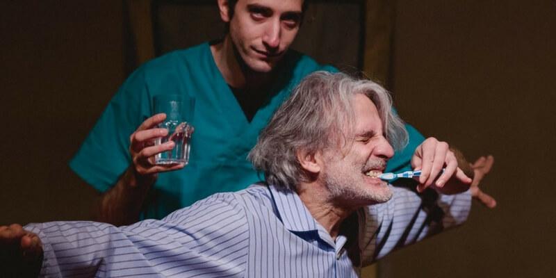 """César Brie porta a teatro a Milano lo spettacolo """"Il Vecchio Principe"""""""