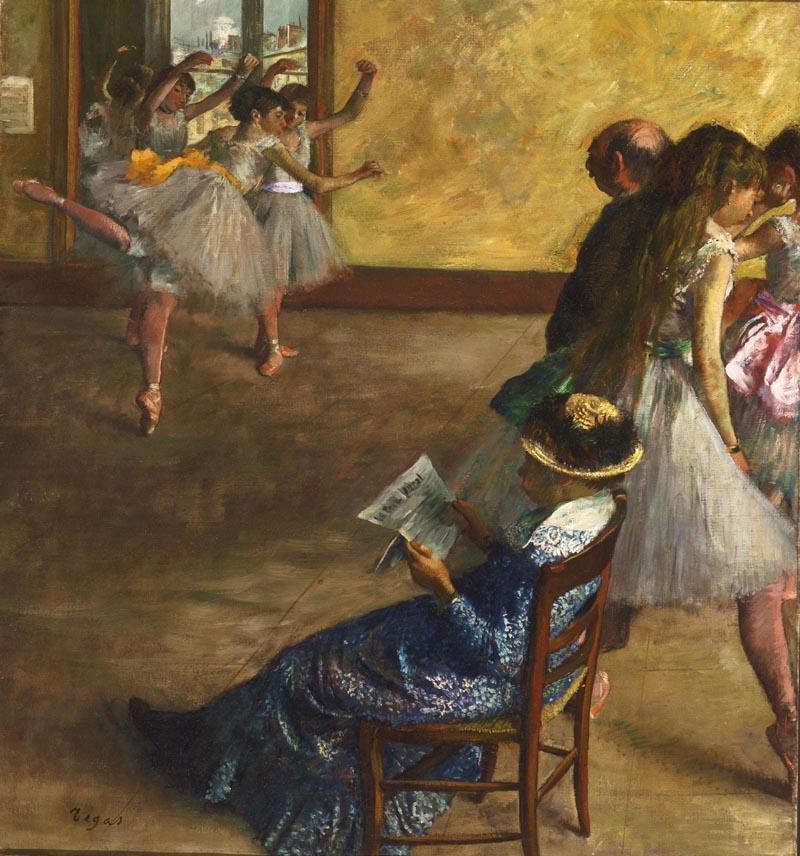 Edgar Degas - La classe di danza ca. 1880