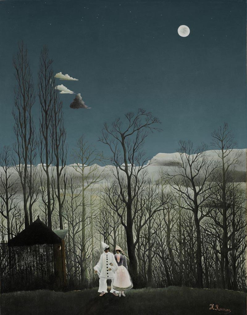 Henri Rousseau - Una sera di carnevale 1886