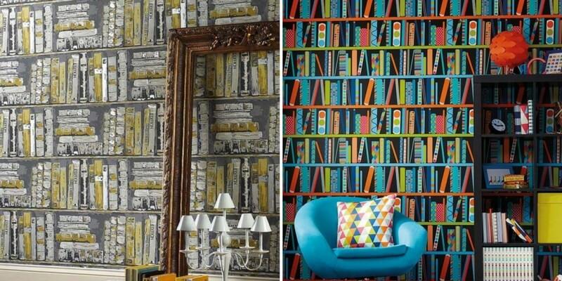 Come rivestire le pareti di casa con i libri