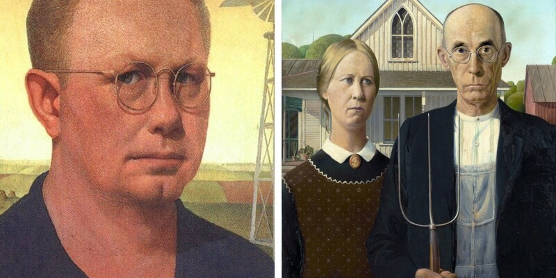 Grant Wood in mostra al Whitney Museum di New York