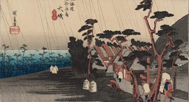 Il Giappone di Hiroshige in mostra a Roma
