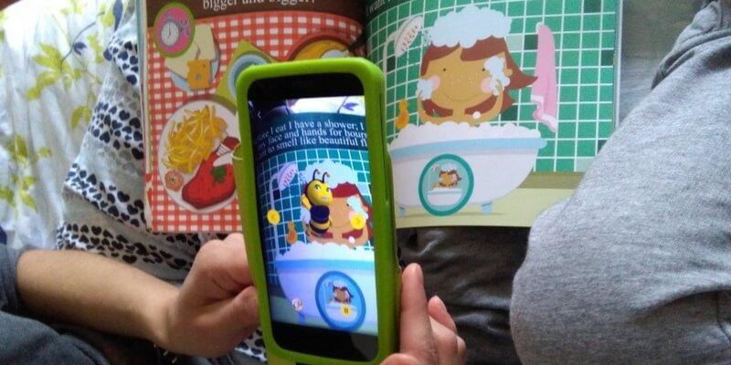 Ellybee, l'app che dà vita ai libri con la realtà aumentata